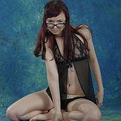 Silver Starlets Shiki Black Lace Set 5 1223