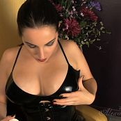 Goddess Alexandra Snow Latex Breast Worship 260317 mp4