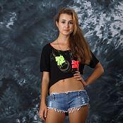 Silver Stars Yulia Denim Shorts Picture Set 3