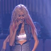 Christina Aguilera Super Sexy Silver Tube Top Live DVDR Video