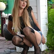 Silver Starlets Katrin Denim Shorts Picture Set 4