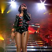 Rihanna Shut Up And Drive Live GGB Latex Outfit HD Video