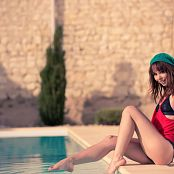 Ariel Rebel Beanie By The Pool Picture Set 1