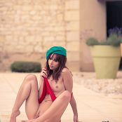 Ariel Rebel Beanie By The Pool Picture Set 3