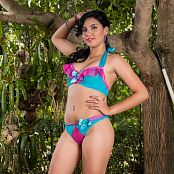Veronica Perez Colorful Bikini YFM Set 256 648