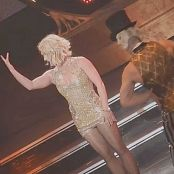 Britney Spears Cute In Golden Dress Live POM 2016 HD Video