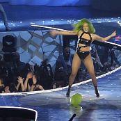 Lady Gaga Sexy Curvy Ass In Black Latex HD Video