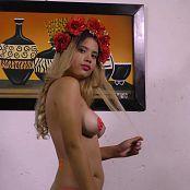 Poli Molina Glowing Bodypaint TM4B 4K UHD Video