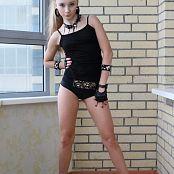 Silver Starlets Alice Black Shorts Set 2 0954