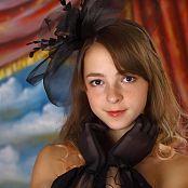 Silver Stars Eva Black Corset Picture Set 1
