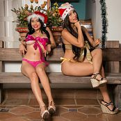 Pamela Martinez Luciana Model and Natalia Marin All Wrapped Up For Christmas Bonus LVL 2 TBF Set 064 0500