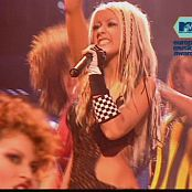 Christina Aguilera Dirrty LIVE EuropeMusicAwards2002 250517 mpg 00005
