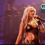 Christina Aguilera Dirrty LIVE EuropeMusicAwards2002 250517 mpg 00011