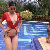 Michelle Romanis Tied Top TM4B HD Video 001 190617 mp4