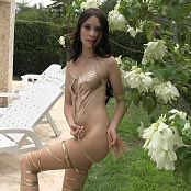 Ximena Model Shiny Gold T Back TM4B HD Video 005 210617 mp4