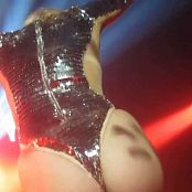 Miley Cyrus Sexy Shiny Silver Outfit Live Gay Heavens Nightclub 2014 HD Video