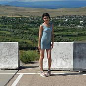 Silver Moon Teia Blue Dress Picture Set 2
