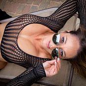 Nikki Sims Aviators And Mesh 066
