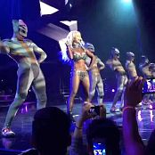 Britney Spears work Bitch Live Glittering Catsuit 2015 HD Video
