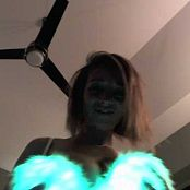 Nikki Sims Neon Outfit Dance Tease Camshow Cut Video