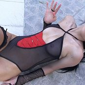 Ximena Model Black One Piece Bonus LVL 3 HD Video 004