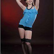 TeenModeling Sarah Blue Heels Picture Set