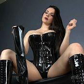 Goddess Alexandra Snow Destruction Junkie Latex Corset HD Video 110717 mp4