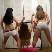 3 Cute Amateur Teens Dancing In Bedroom Video