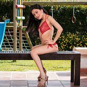 Emily Reyes Shiny Red Bonus LVL 1 YFM Picture Set 259
