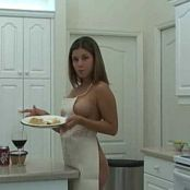 Missy Model Making Nachos In The Kitchen Video