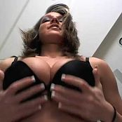 Nikki Sims Sexy From Bottom POV Black Lingerie Tease Camshow Cut Video