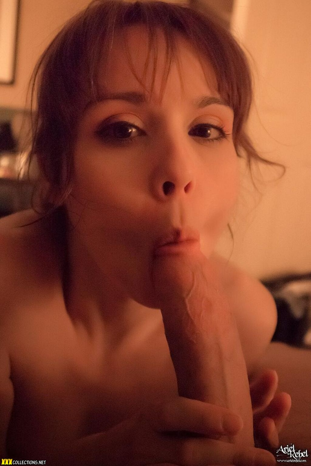 Ariel Rebell Blowjob
