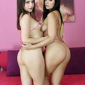 Teenikini Kylie Quinn Violet Star Sling Bikini Set 016 301