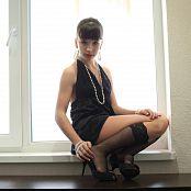 Silver Jewels Sarah Black Dress Set 2 1104