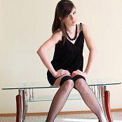 Silver Jewels Sarah Black Dress Set 4 0926