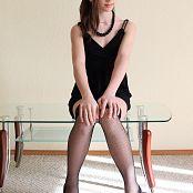 Silver Jewels Sarah Black Dress Set 4 0983