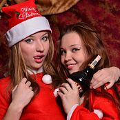 Silver Angels Anita & Kira Christmas Picture Set 1