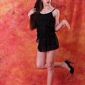 Silver Jewels Sarah Black Dress Set 6 1118