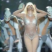 Britney Spears Womanizer Live In Sexy Sparkling Catsuit HD Video