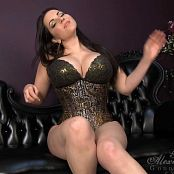 Goddess Alexandra Snow Feeling Lucky Edging Game 1 230817 mp4