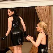 Goddess Alexandra Snow Latex Polishing Slave Girl HD Video 230817 mp4