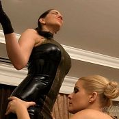 Goddess Alexandra Snow Latex Polishing Slave Girl HD Video 230817 mp4