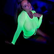 Nikki Sims Yellow Mesh 0253