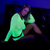 Nikki Sims Yellow Mesh 0254