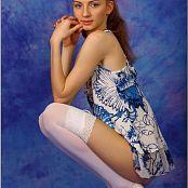 TeenModelingTV Marina Blue and White 0411