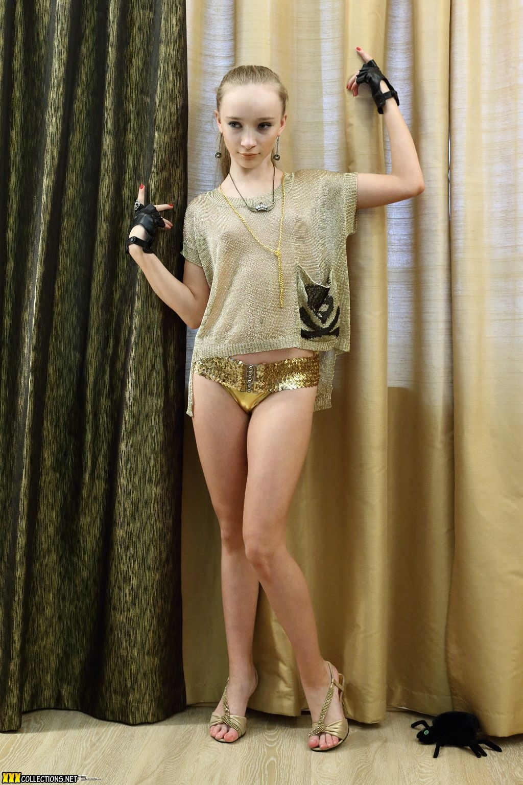 Silver Starlets Alice Gold 4 X Teenmodels | CLOUDY GIRL PICS