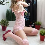 Silver Starlets Alice Pink Lace Set 1 1227