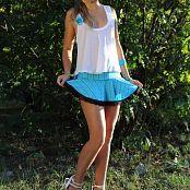 Silver Starlets Alice Blue Skirt Set 1 867
