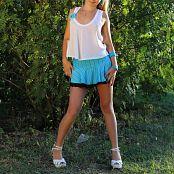 Silver Starlets Alice Blue Skirt Set 1 948