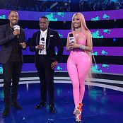 Nicki Minaj Pink Latex Catsuit VMA 2017 1080p HD Video 160917 mkv